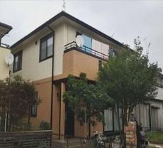 ツートンカラーの外壁塗装~(埼玉県深谷市)