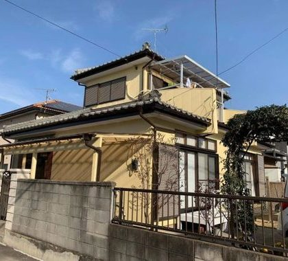 新築当時の外壁塗装!リフォームして良かったです|本庄市西富田