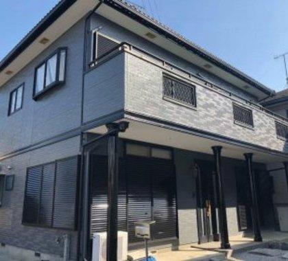 シックでカッコいい塗装リフォーム 埼玉県本庄市