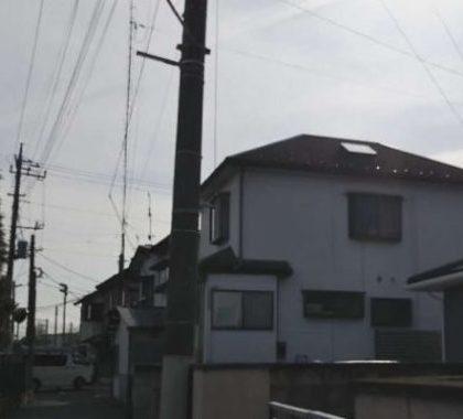 鮮やかなブルーグレーに!外壁塗装リフォーム|高崎市新町